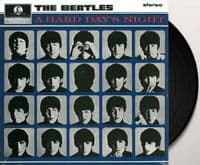 THE BEATLES A Hard Day's Night Vinyl Record LP Parlophone 2017